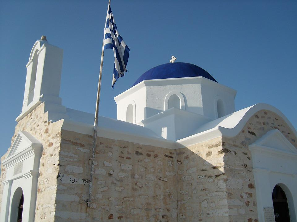 Greece, Church, Blue, Island, Holiday, Travel