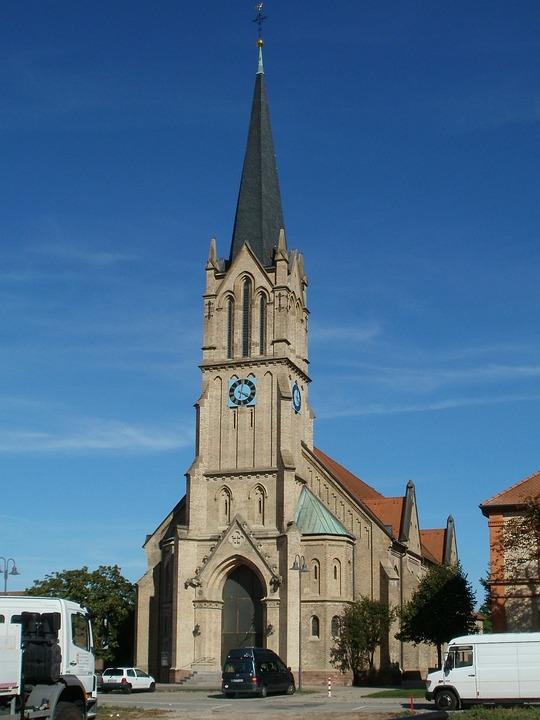 Church, Bruehl, Schutzengelkirche, Architecture