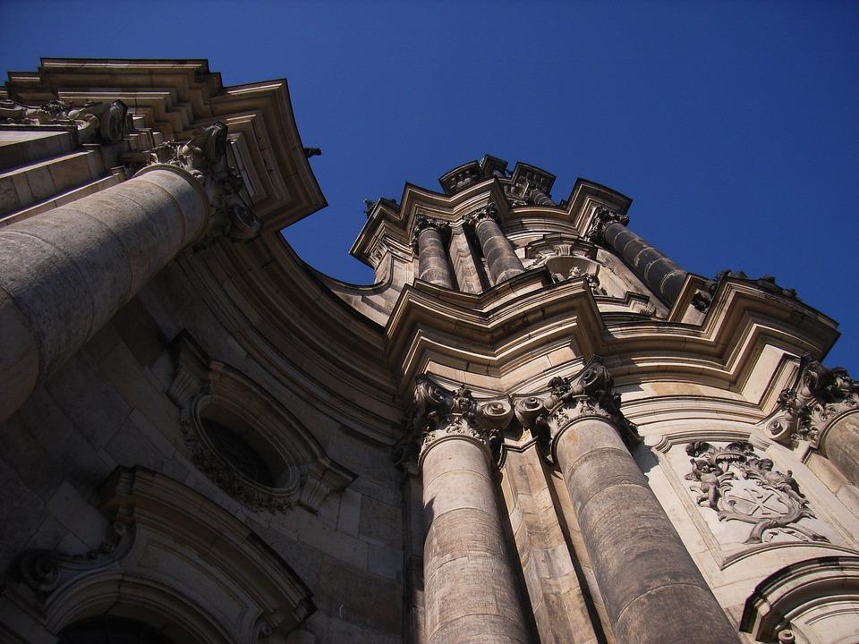 Dresden, Church, Frauenkirche, Building, Reconstruction