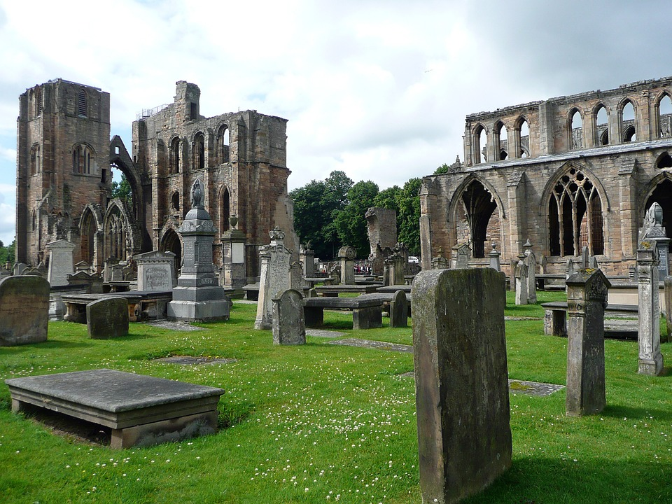 Church, Ruin, Scotland, Building, Historical