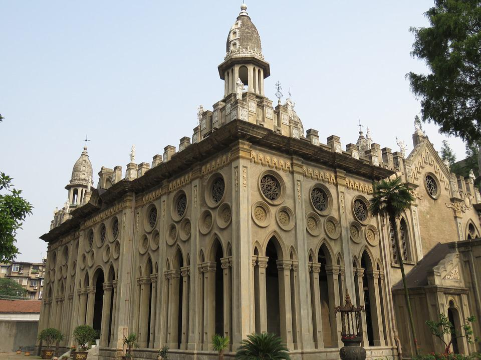 Continental, Church, Building, Wuhan
