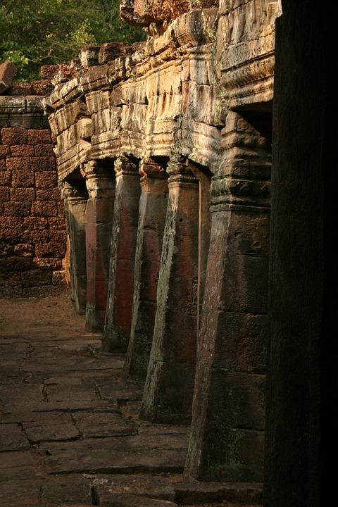 Angkor, Wat, Cambodia, Church, Asia