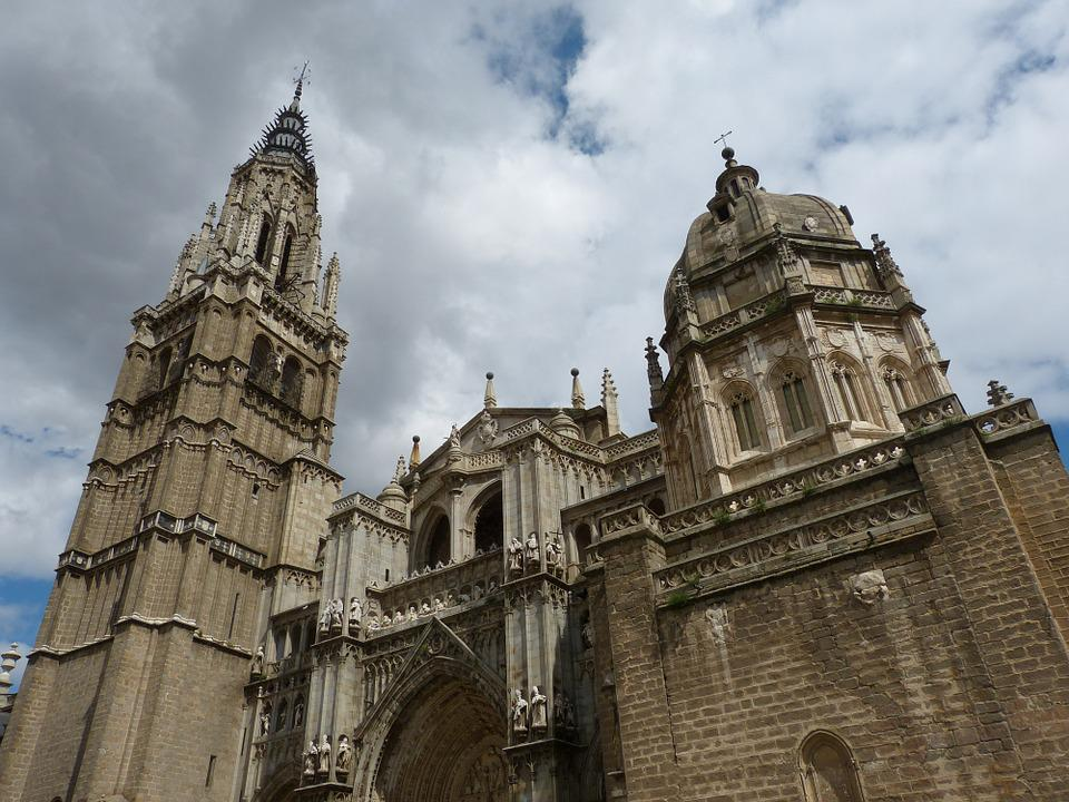Toledo, Cathedral, Church, Dome, Spain, Castile