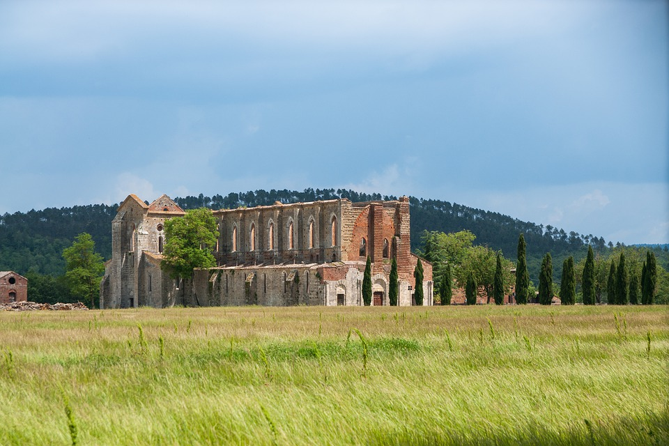 Church, Cathedral, Ruin, Arches Architecture, Antiquity