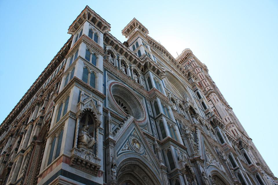 Florence, Italy, Cathedral, Church, Architecture