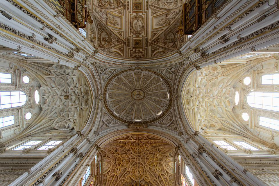 Church, Interiors, Architecture, Cathedral, Perspective