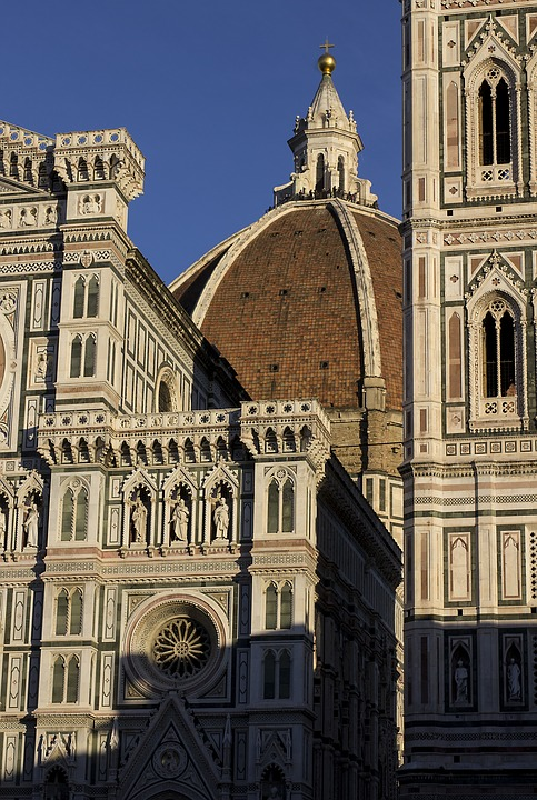 Architecture, Church, City, All, Cathedral, Florence