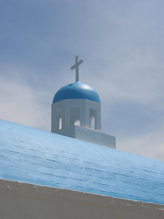 Greece, Greek, Greek Island, Chapel, Church