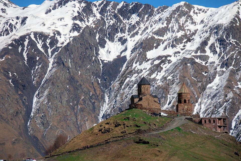 Church, Mountain, Landscape, Chapel, Monastery