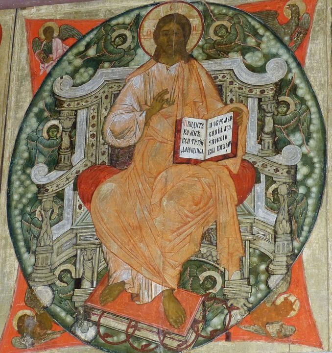 Icon, Christ, Russia, Orthodox, Church, Believe