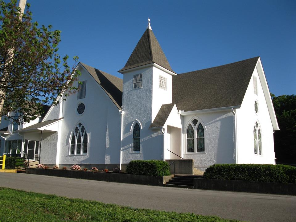Church, Christian, Architecture, Steeple