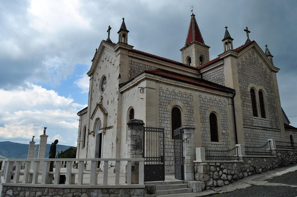 Church Of St Elijah, Metkovic, Croatia, Church