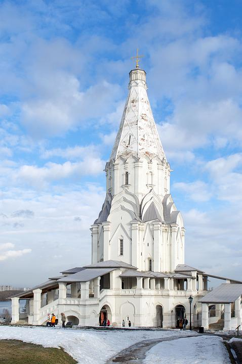 Kolomna, Church Of The Ascension, Moscow, Church