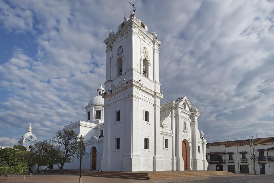 Colombia, Santa Marta, Cathedral Of Santa Marta, Church
