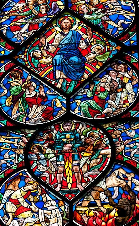 Church, Window, Church Window, Colorful, Glass