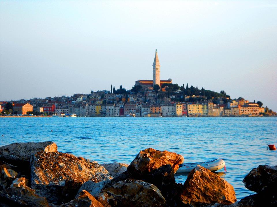 Sea, Church, Croatia