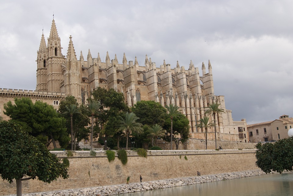 Church, Cathedral, Palma, Dom, Mallorca