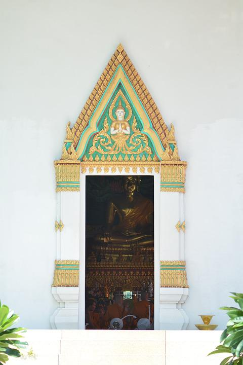 Church Door, Entrance, Measure, Buddhism