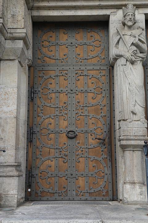 Church Door Portal Door Input Church Ornament Old & Free photo Church Door Input Ornament Church Old Portal Door - Max ...