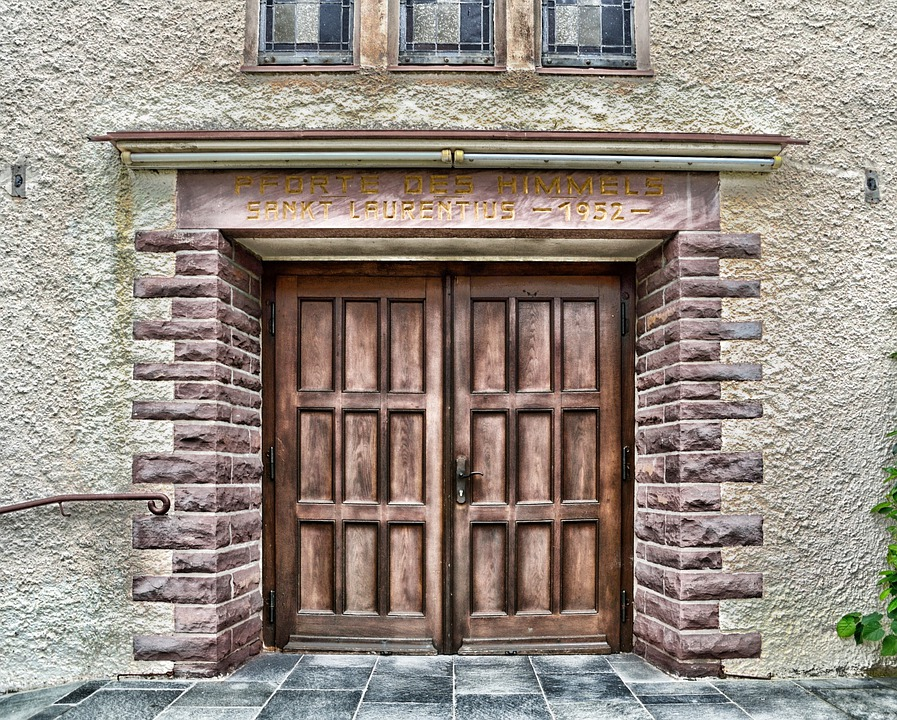 Schieder-schwalenberg, Germany, Church, Building, Door