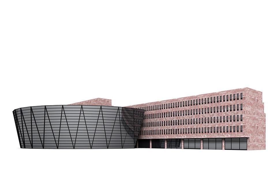 Library, Dortmund, Architecture, Building, Church