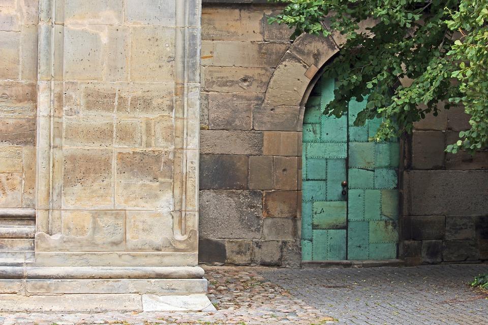 Entrance Door, Church Entrance