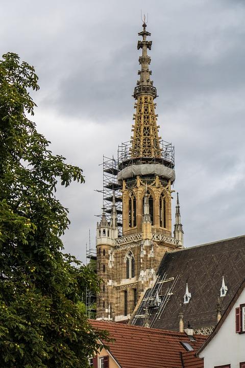 Frauenkirche, Esslingen, Church, Renovation