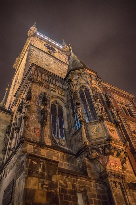 Cathedral, Prague, Europe, Czech Republic, Church