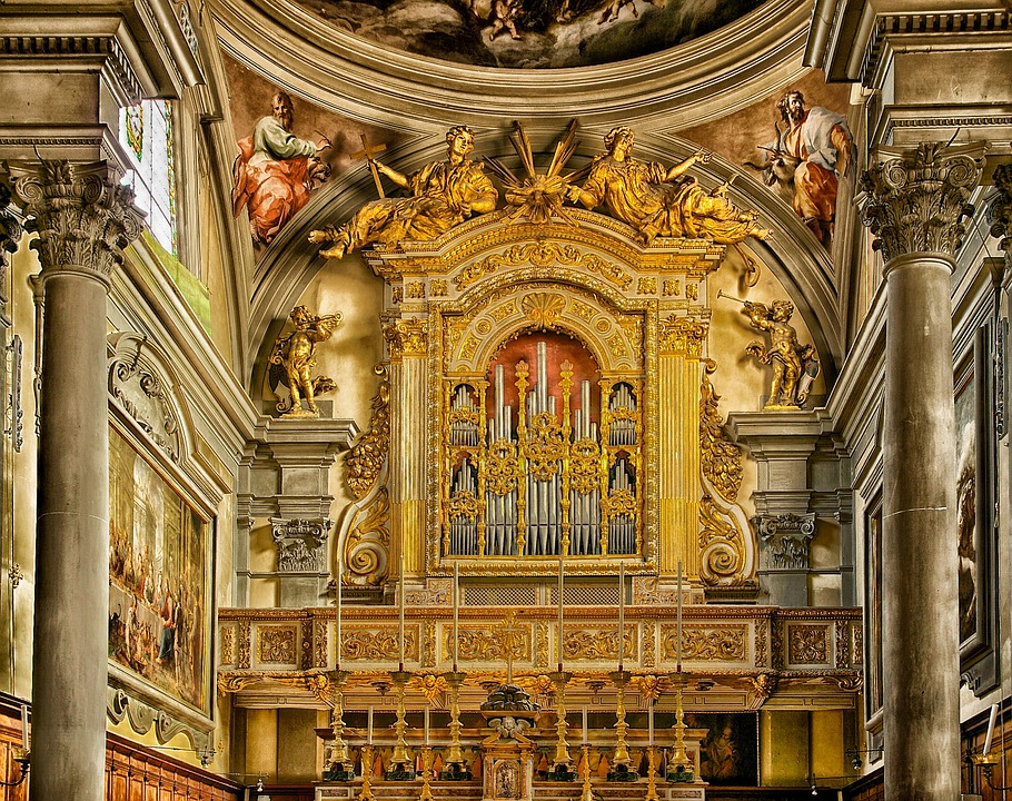 Florence, Italy, San Marco, Church, Cathedral, Indoor