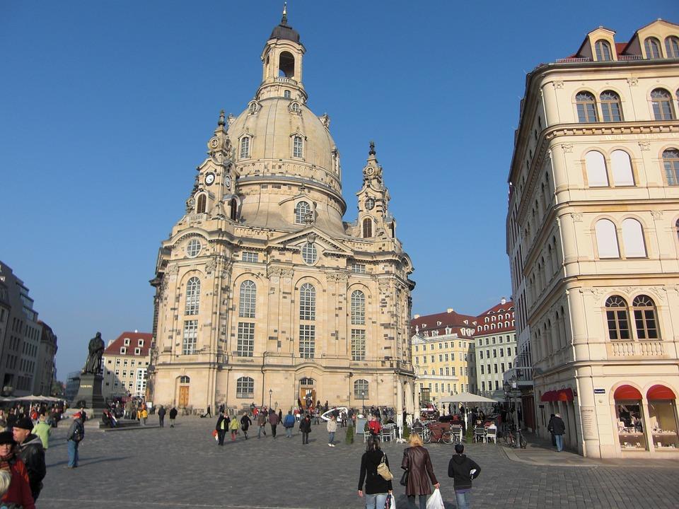 Frauenkirche, Dresden, Church, Architecture, Building
