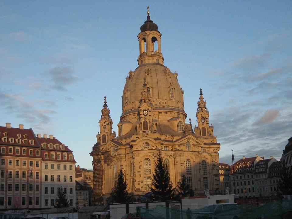 Frauenkirche, Church, Dresden