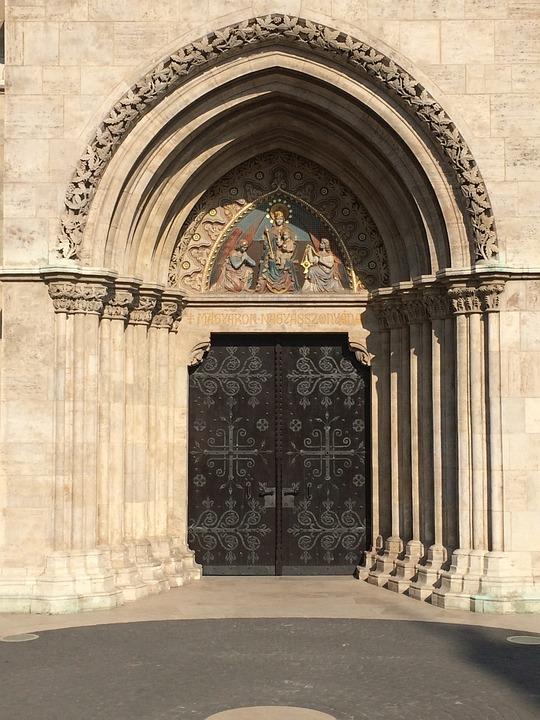 Church, Gate, Budapest, Matthias