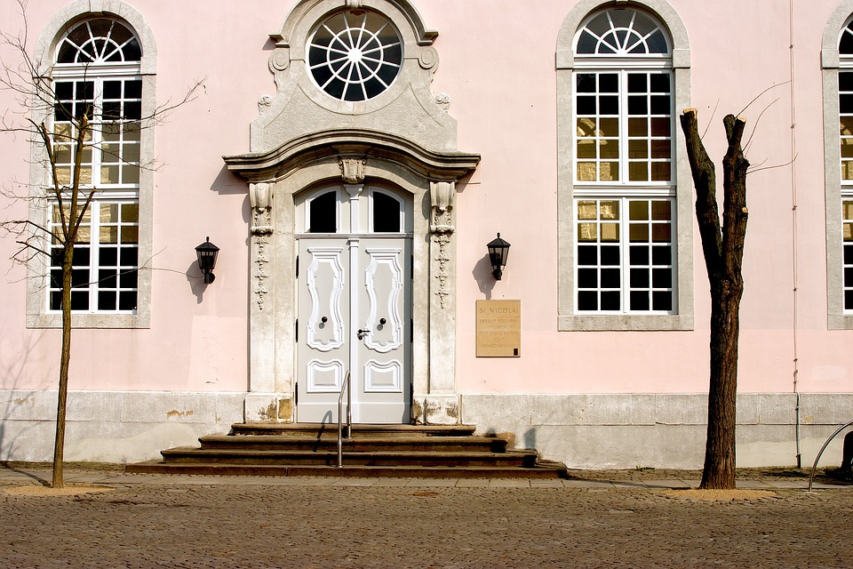 Church, Building, Germany, Architecture, Window, Door