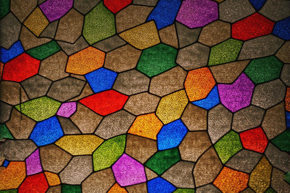 Glass, Church, Color, Religion