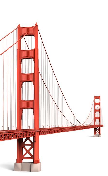 Golden Gate Bridge, San Fransisco, Building, Church
