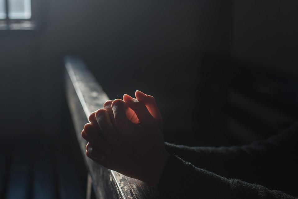 Prayer, Hand, Church