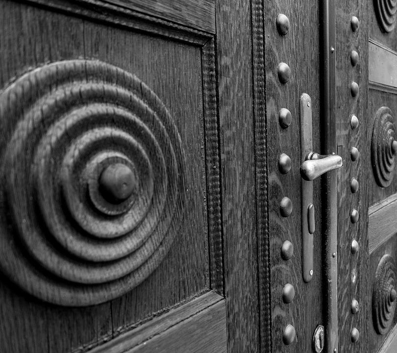 Door, Church, Wood, Input, Historical, Architecture