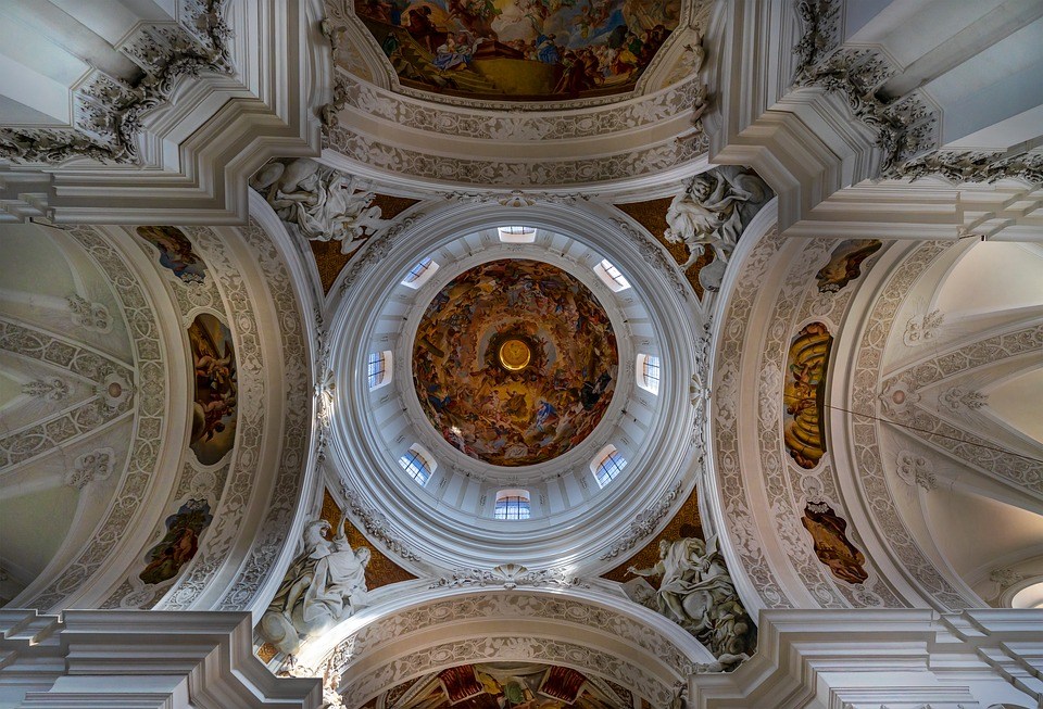 Church, Old, Architecture, Religion, Historically, Dom