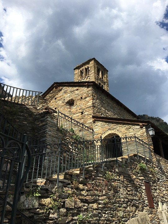 Church, Mountain, Spain, Architecture, History