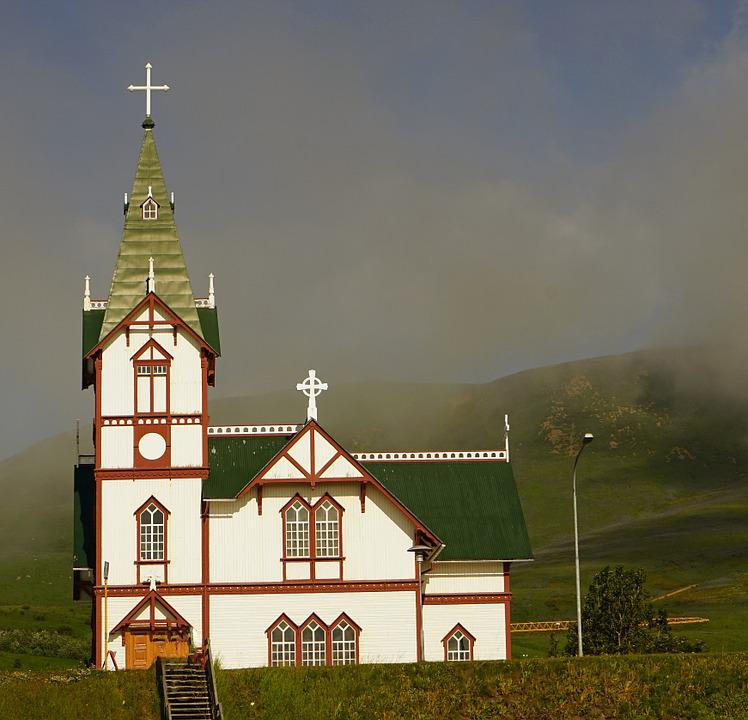Church, Husavik, Iceland