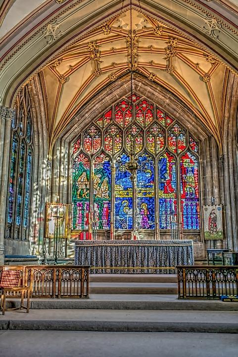 St Mary S Bristol, Church, Inside, Religion, Pray