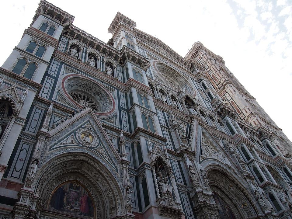 Florence, Sky, Church, Italy