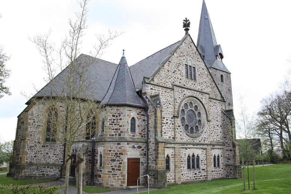 Church, Lutheran, Saint, Bartholomew, Architecture