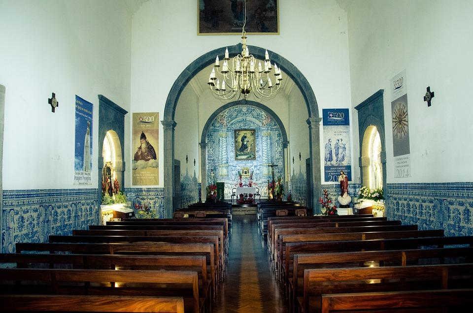 Madeira, Church, Church Madeira, Building, Inside