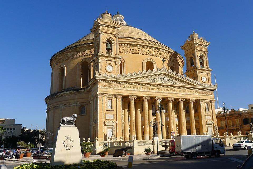 Dom, Dome, Malta, Church, Religion, Christianity