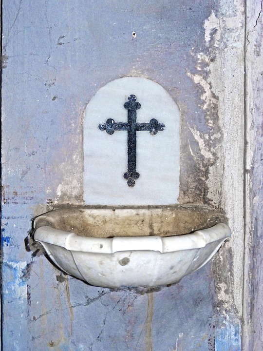 Holy Water, Pica, Church, Marble