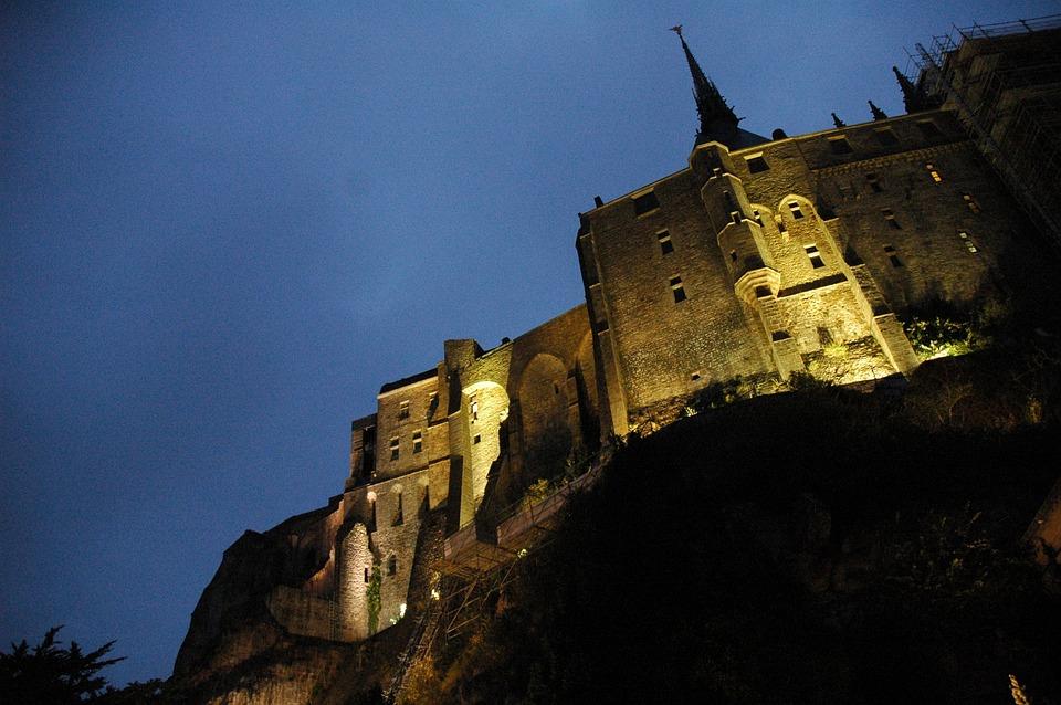 Mont Saint Michel, Church, Monastery, Brittany