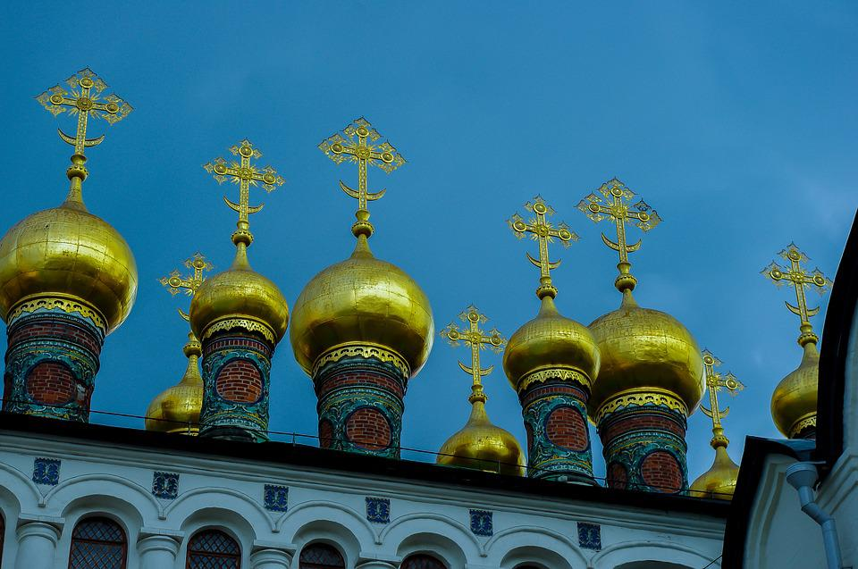 Kremlin, Moscow, Religion, Architecture, Russia, Church