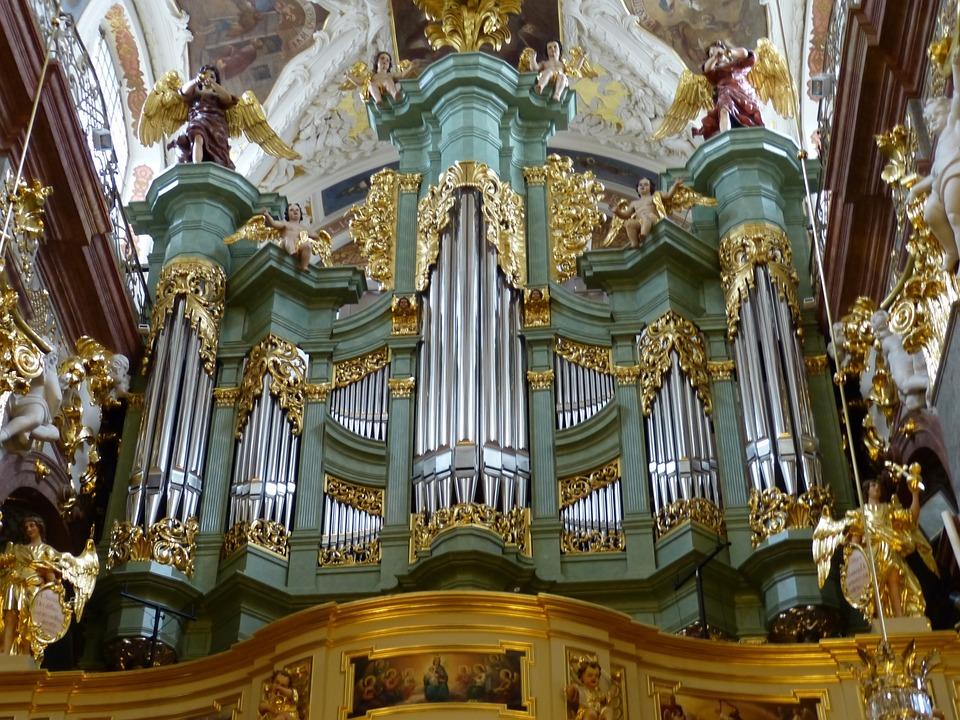 Organ, Musical Instrument, Music, Church, Instrument