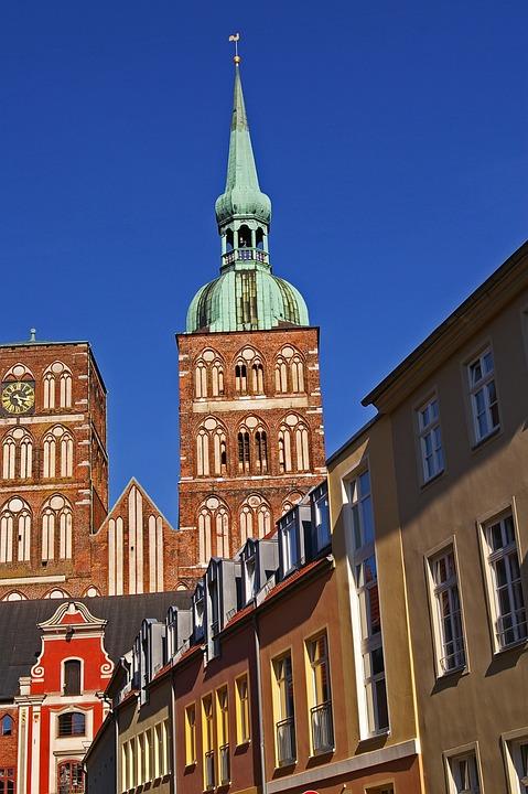 Stralsund, Nikolai Church, Architecture, Church, Facade